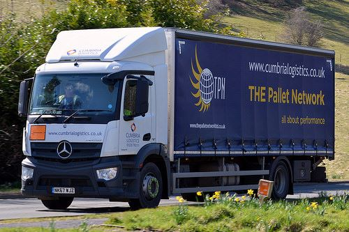 Palletised Freight in Longtown, Cumbria